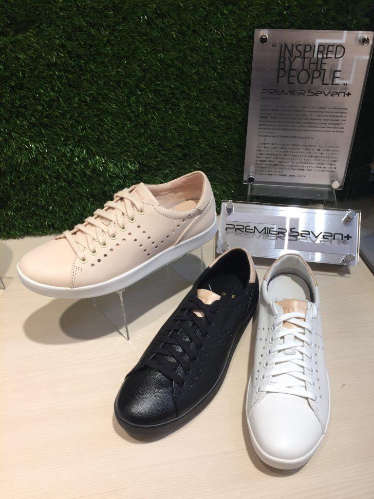 神戸 レザースニーカー 靴 レディース プレミアセブン ps751 専門店